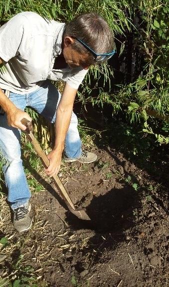 Søren Ladefoged arbejder med bambus